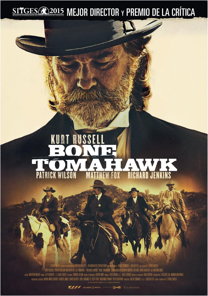 "Sábado 5. Salas 1, 2 y 3. 22:10. Un western de terror protagonizado por Kurt Russell y Matthew Fox. Tráiler <a href=""//www.youtube.com/watch?v=0ZbwtHi-KSE"">aquí</a>."
