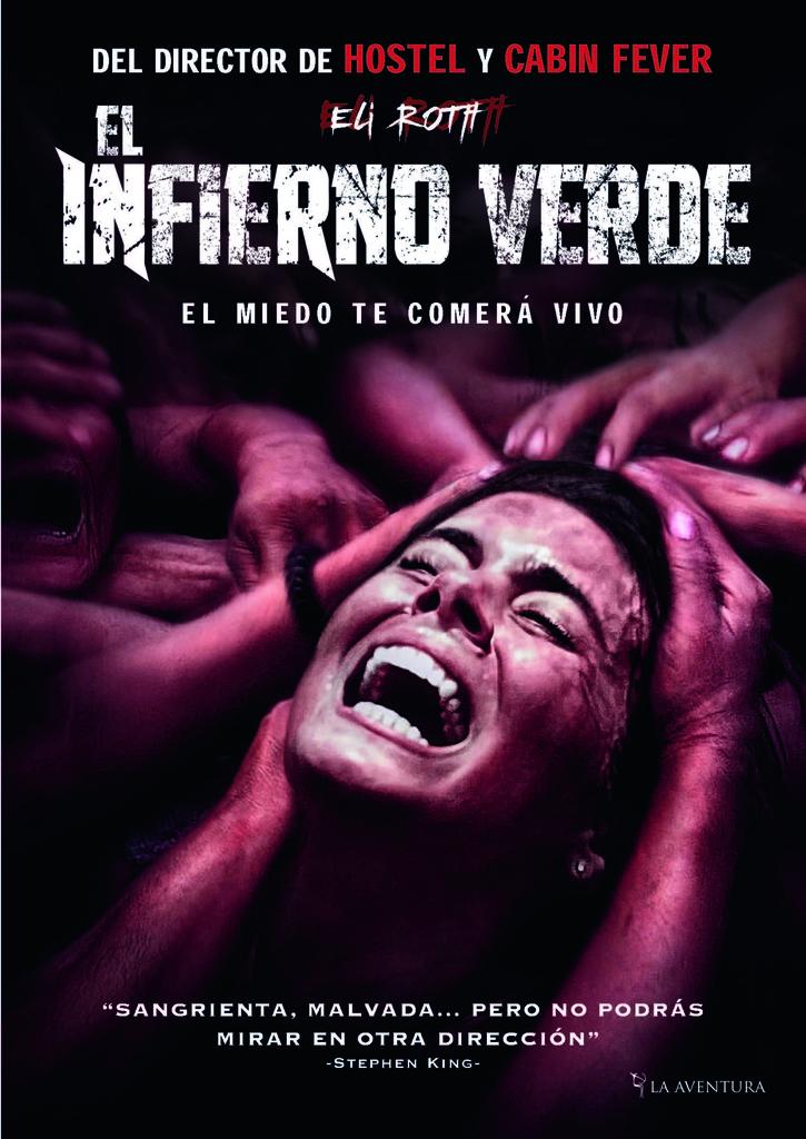 """Viernes 4. Sala 1 y 2. 20:00. Incursión del actor y director Eli Roth en el mundo del canibalismo. Tráiler <a href=""""//www.youtube.com/watch?v=Epjvjs8gju8"""">aquí</a>."""